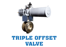 Triple Offset Valves